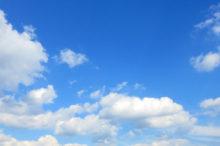 空 晴れ 雲